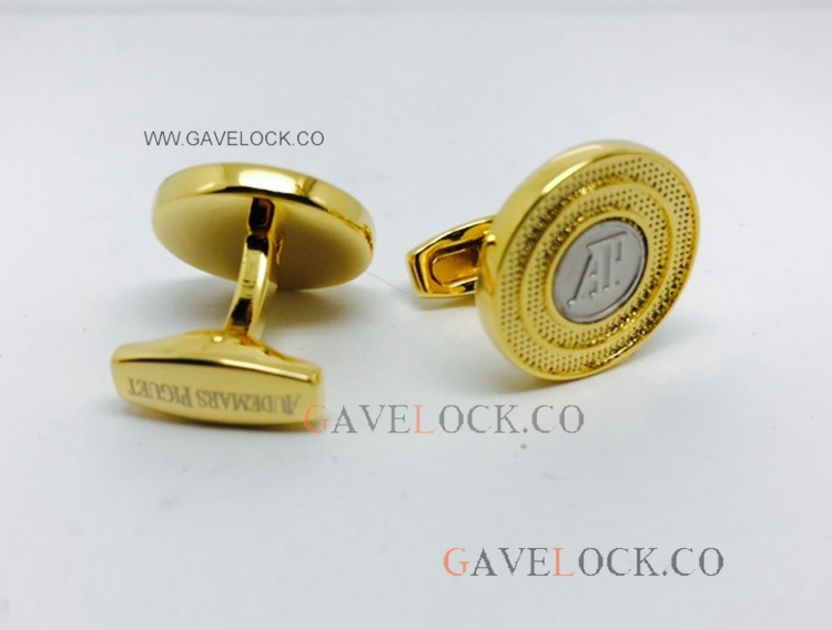 Buy Replica Audemars Piguet Yellow Gold Cufflinks - AAA Quality Audemars Cufflinks
